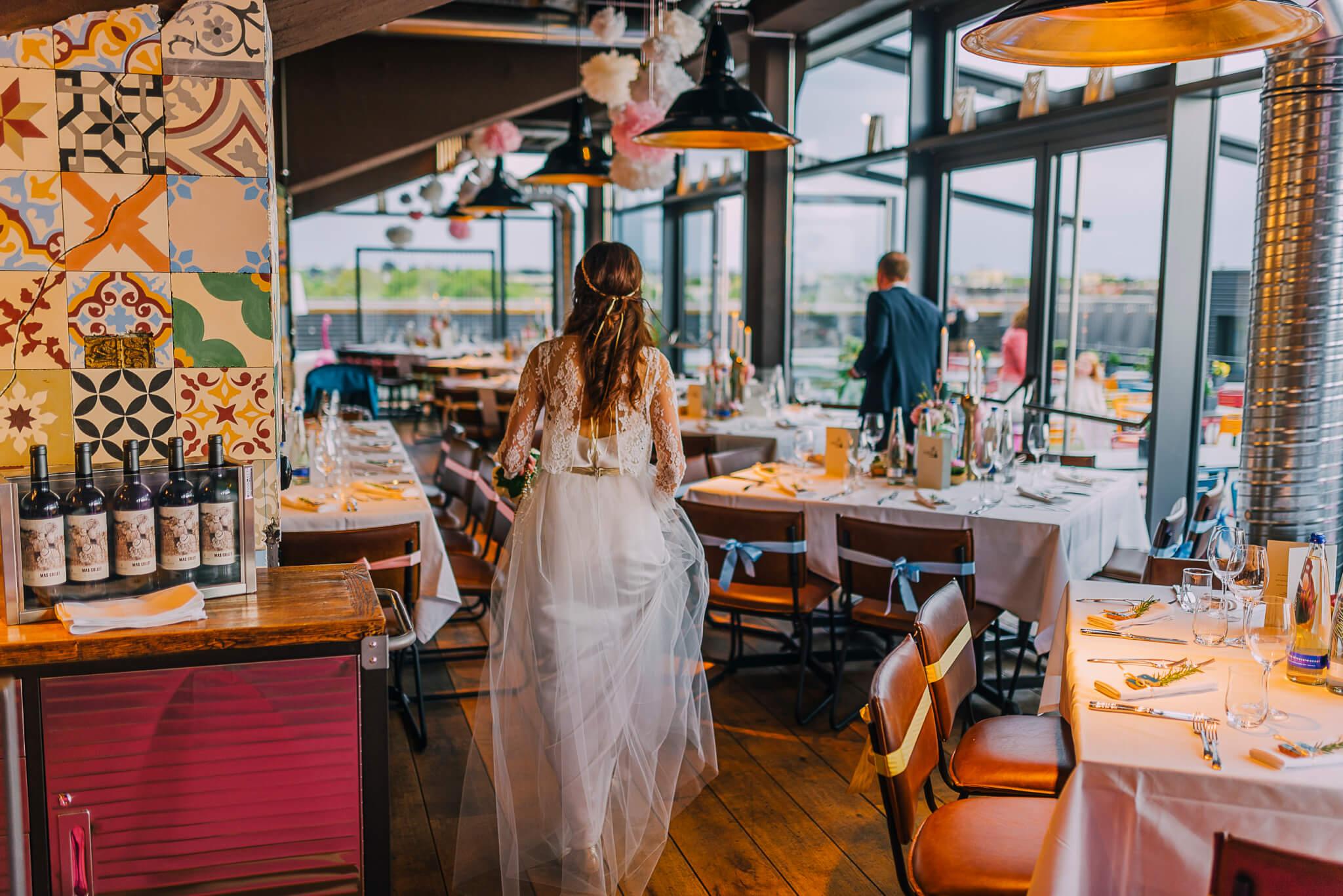 Die Küche im Kraftwerk – Restaurant mit Dachterrasse im KARE